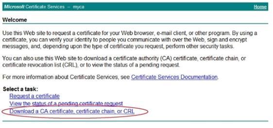 Using certificates