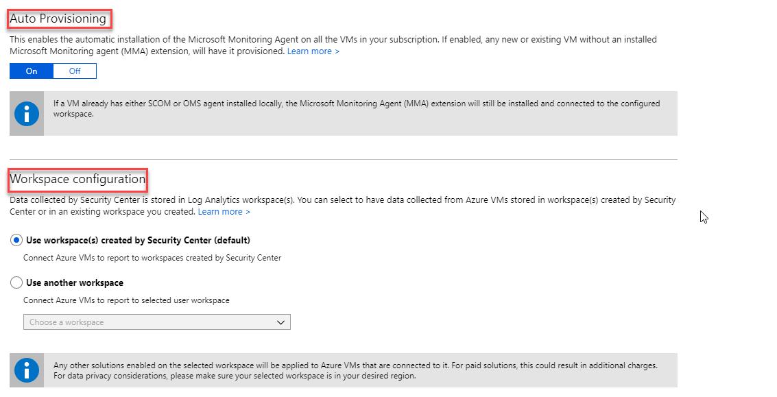 Microsoft Azure Security Integration