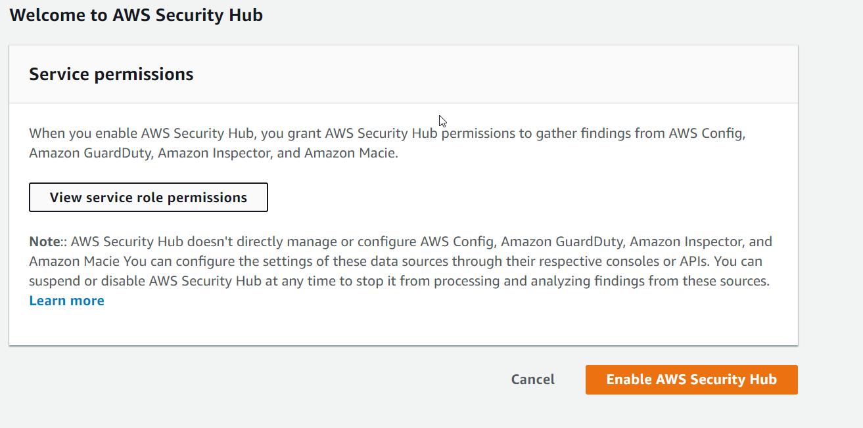 Amazon AWS Cloud Security Integration