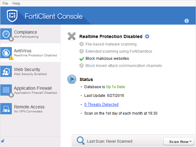 how to turn off antivirus without admin