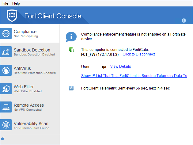Managed mode with FortiGate