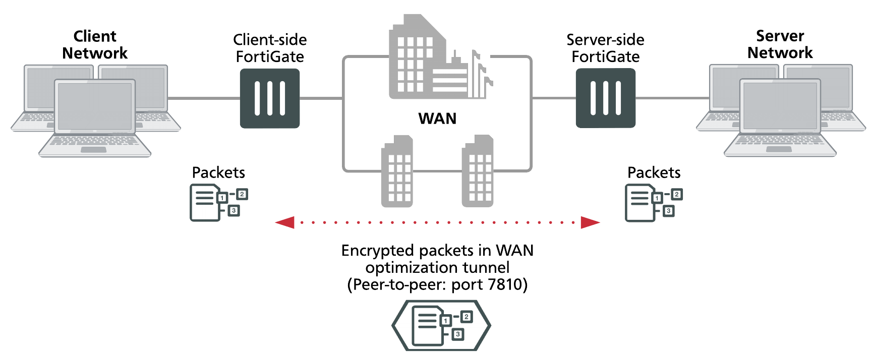 Configuring WAN optimization