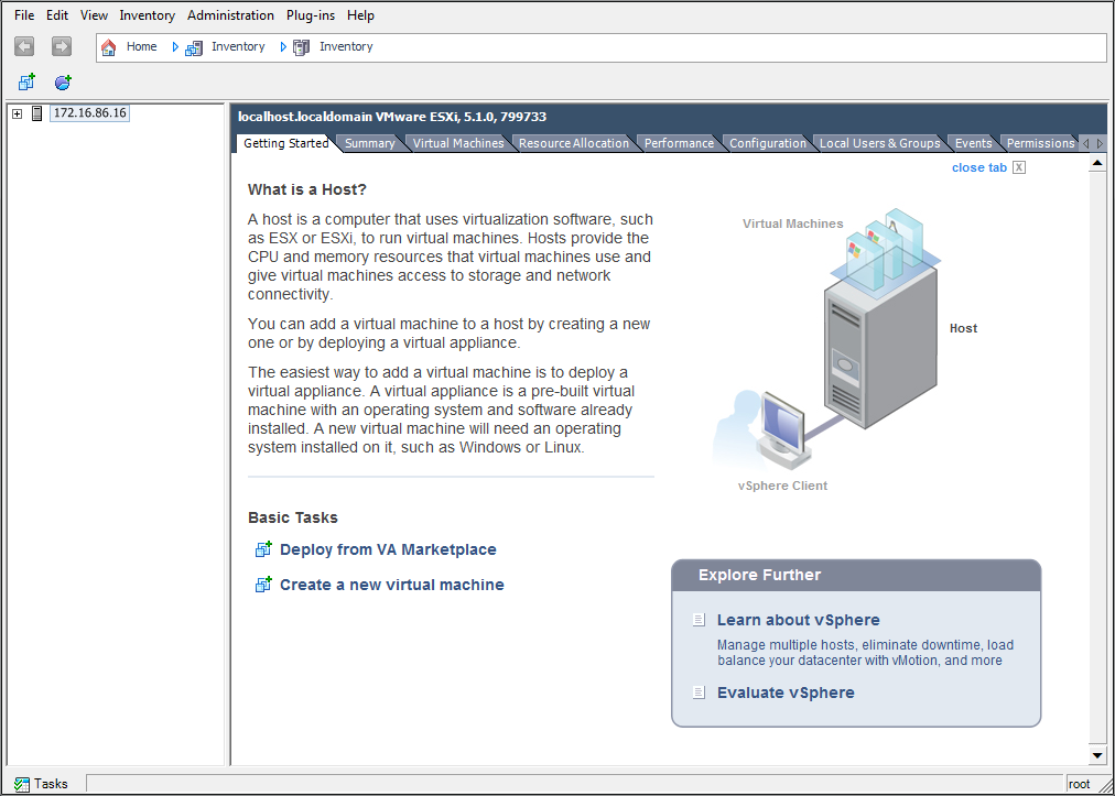 Open the FortiGate VM OVF file with the vSphere client