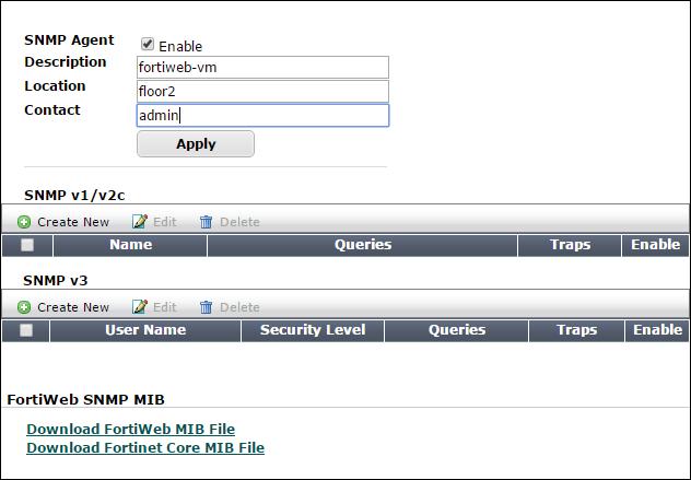 SNMP traps & queries